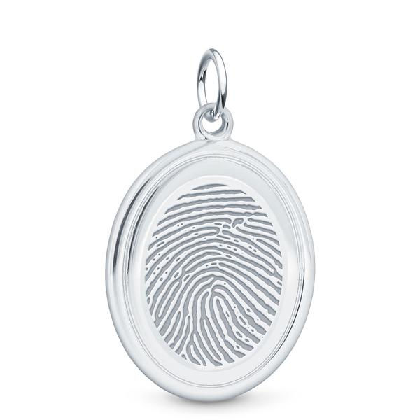 PENDANT - Sterling Silver Oval (Partner Plus)