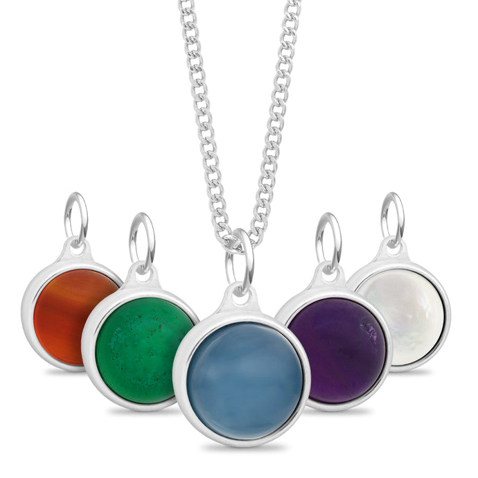 Gemstone Cremation Urn Pendant
