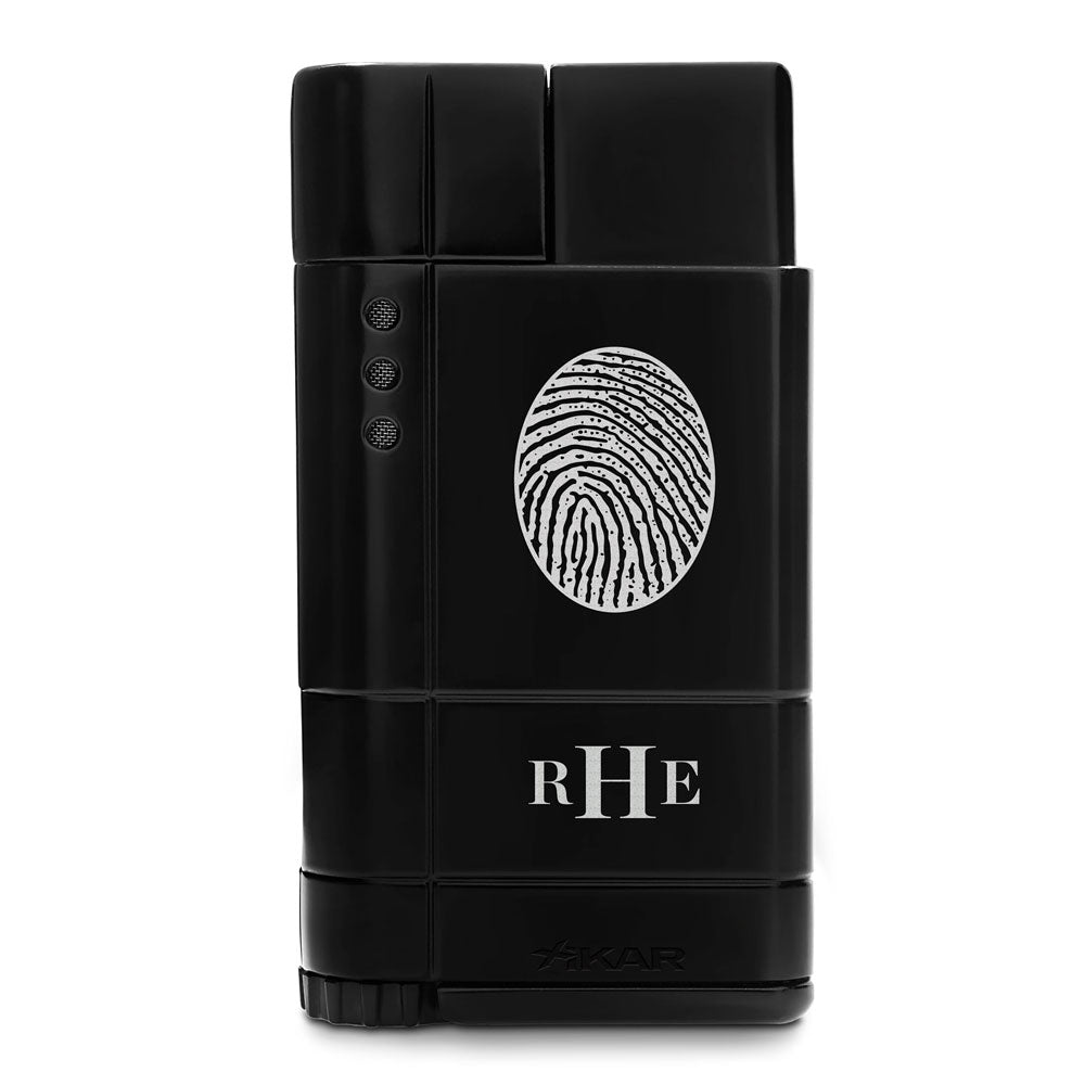 Fingerprint Keepsake Xikar Windproof Lighter