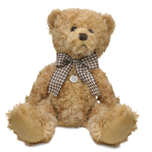 Theo - Keepsake Teddy Bear with Stainless Steel Pendant