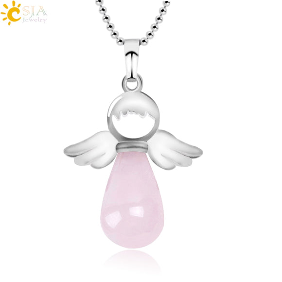 Angelic Water Drop Necklace - Allys Select