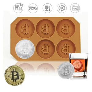 Silicone Ice Bitcoin Tray - Allys Select