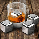 Stainless Steel Cocktail Cubes - Allys Select