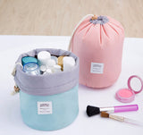 Drawstring Barrel Cosmetic Bag - Allys Select