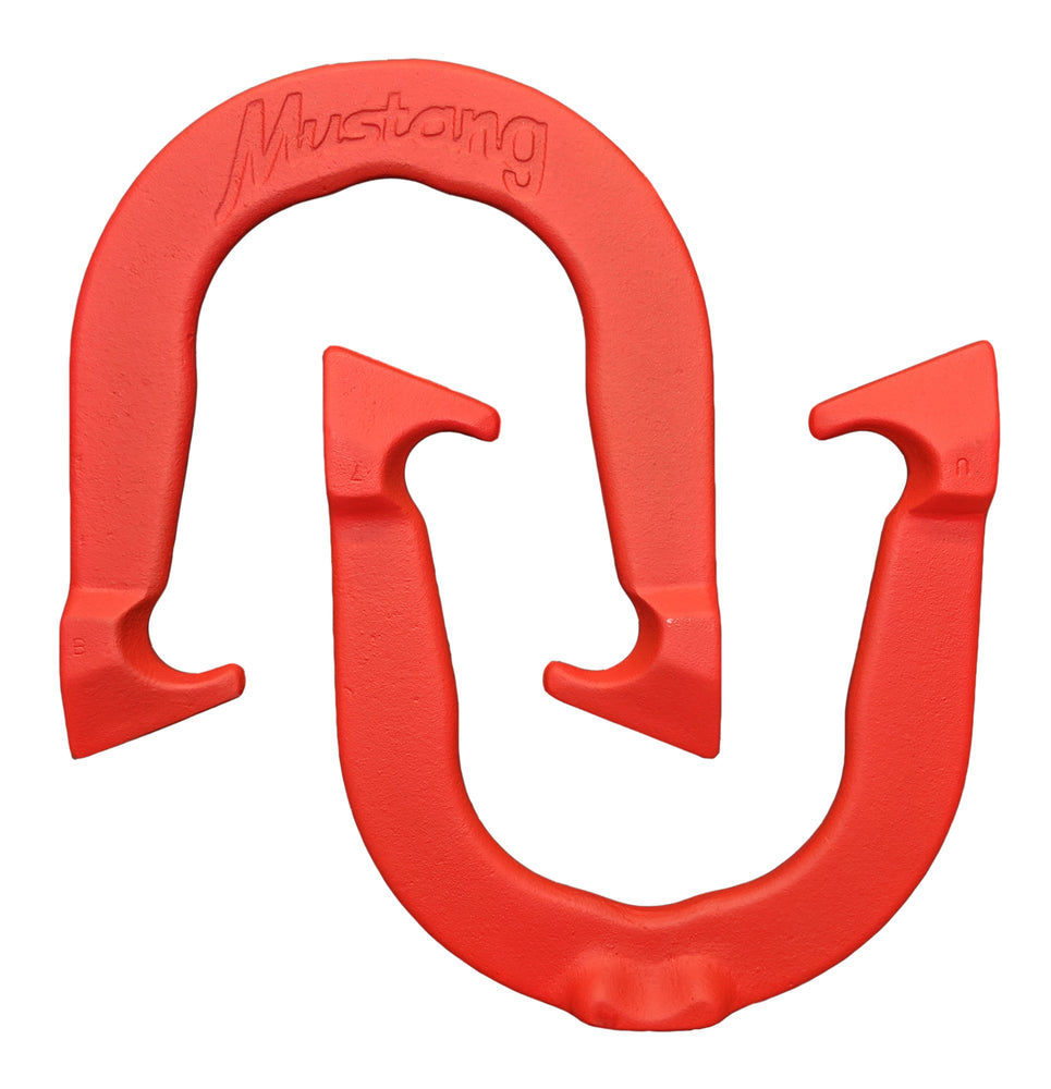 Mustang Horseshoes (set of 2 shoes)