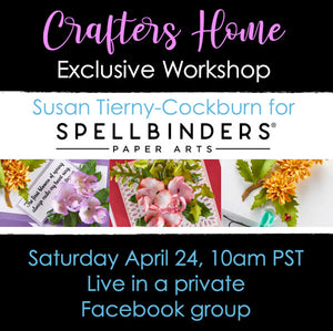Susan Tierny-Cockburn Spellbinders Exclusive Class