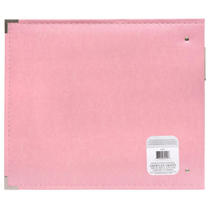 We R Memory Keepers 12 x 12 Album Pretty Pink