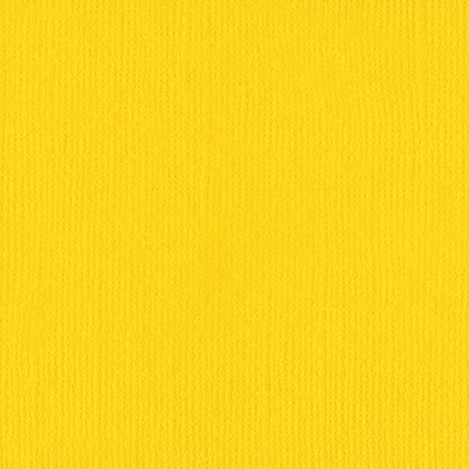 Bazzill Cardstock Bazzill Yellow