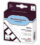 Scrapbook Adhesives Mounting Squares 12x13mm