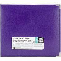 We R Memory Keepers Classic Leather 12 x 12 Album Grape Soda