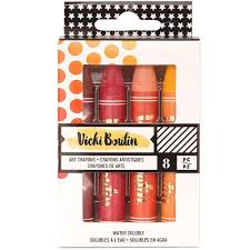 Vicki Boutin Warm Art Crayons 8pc