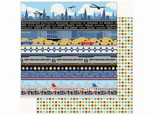 Carta Bella Passport Border Strips