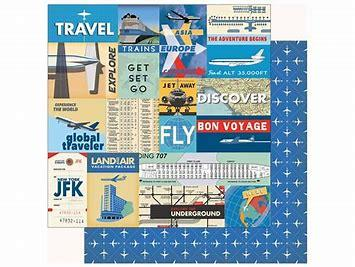 Carta Bella Passport Multi Journaling Cards