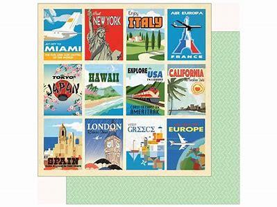 Carta Bella Passport Destination Cards