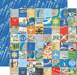 Carta Bella Passport Travel Squares