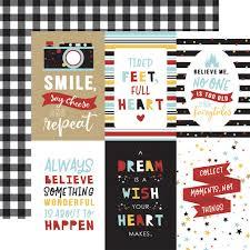 Echo Park Magical Adventure 2 4 x 6 Journaling Cards