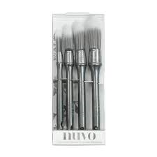 Nuvo Stencil Brushes 4pc