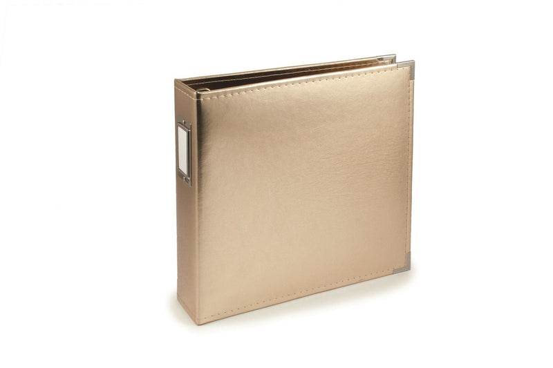 We R Memory Keepers Classic Leather 12 x 12 Album Gold