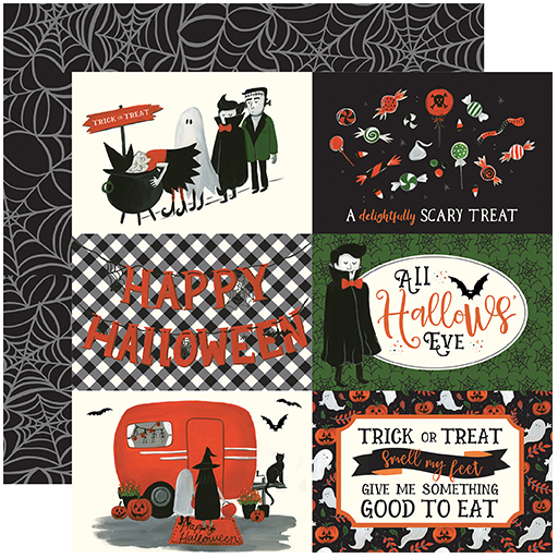 Echo Park Trick or Treat 4x6 Journaling Cards