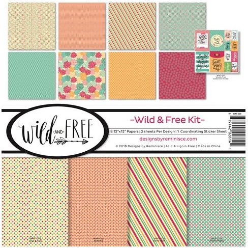 Reminisce Wild & Free Collection Kit