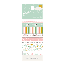 Pebbles Peek A Boo Girl Washi Tape