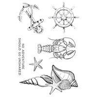 Kaisercraft Uncharted Waters Clear Stamp Set