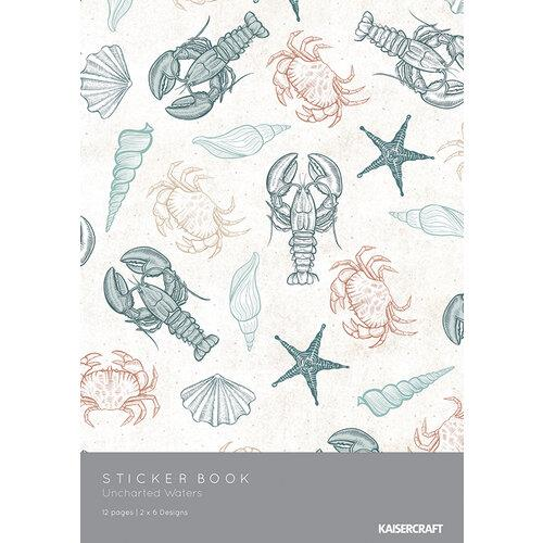 Kaisercraft Uncharted Waters Sticker Book