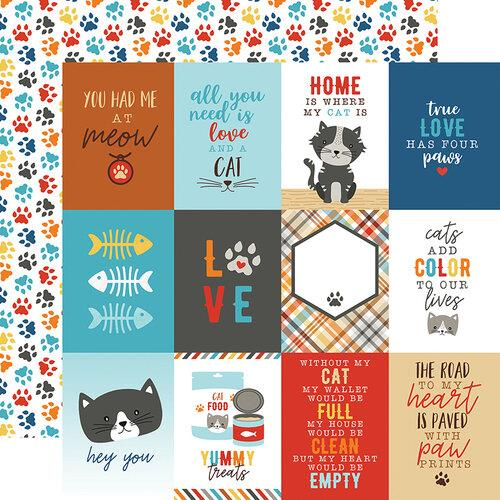 Echo Park I Love My Cat 3x4 Journaling Cards