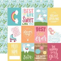 Echo Park All Girl 3 x 4 Journaling Cards