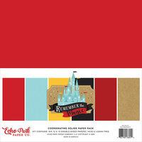 Echo Park Remember the Magic Coordinating Solids Paper Pack