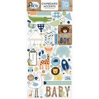 Echo Park Baby Boy Chipboard Accents