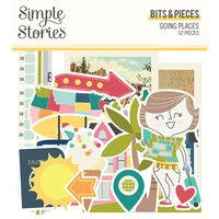 Simple Stories Going Places Bits & Pieces