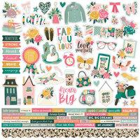 Simple Stories I Am Combo Cardstock Stickers