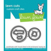 Lawn Fawn Reveal Wheel Circle Sentiments Die