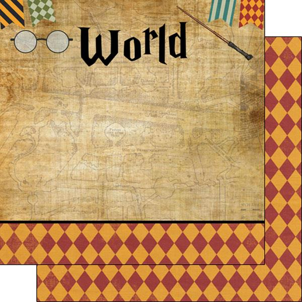 Scrapbook Customs Wizarding World - Right