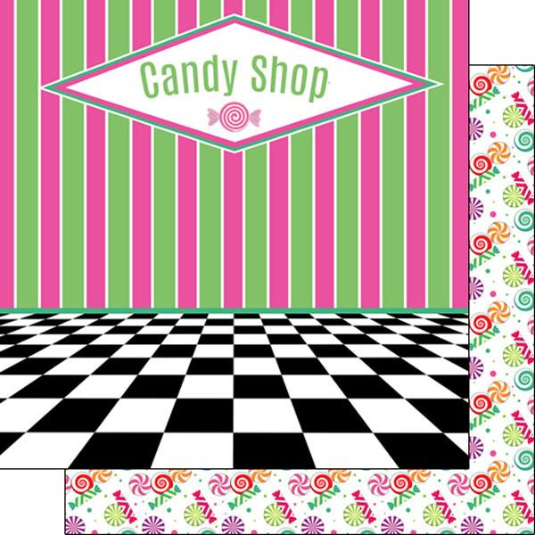 Scrapbook Customs Candy Shop
