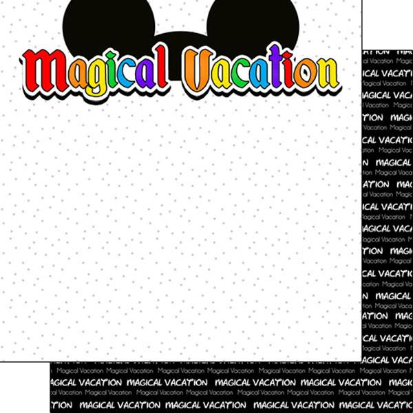 Scrapbook Customs Magical Vacation - Ears