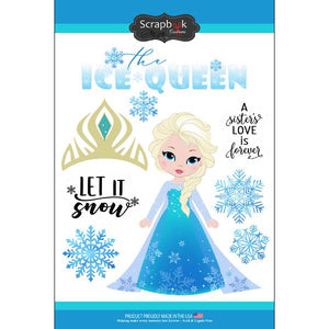 Scrapbook Customs Ice Queen Sticker