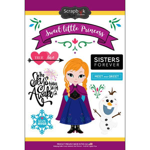 Scrapbook Customs Ice Princess Sticker