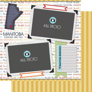 Scrapbook Customs Manitoba DS Quick Page Journal