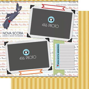Scrapbook Customs Nova Scotia DS Quick Page Journal