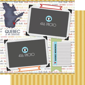 Scrapbook Customs Quebec DS Quick Page Journal
