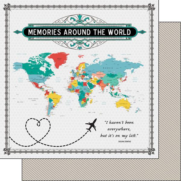 Scrapbook Customs Memories Around the World