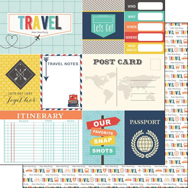 Scrapbook Customs Travel Memories Journal