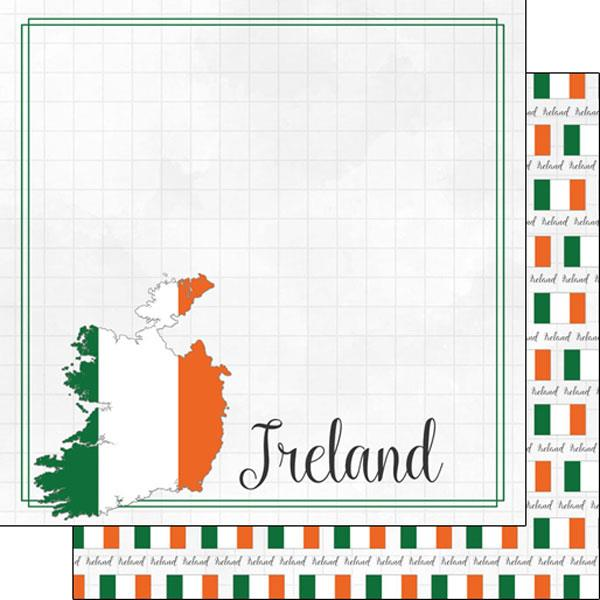 Scrapbook Customs Ireland Adventure Border