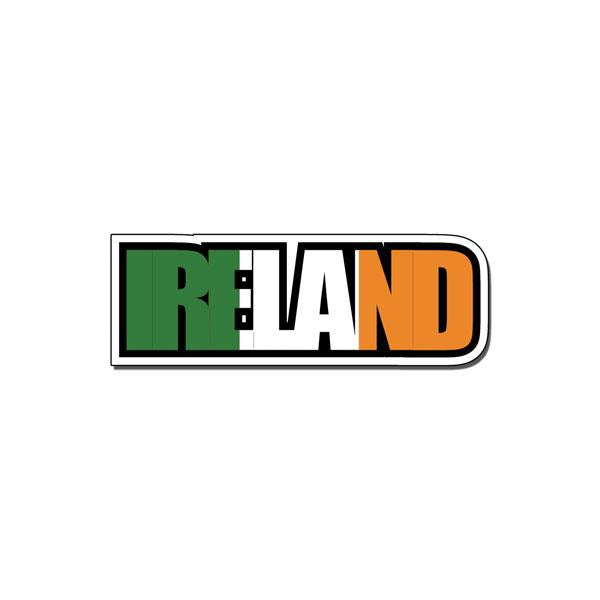 Scrapbook Customs Ireland Flag Word - D