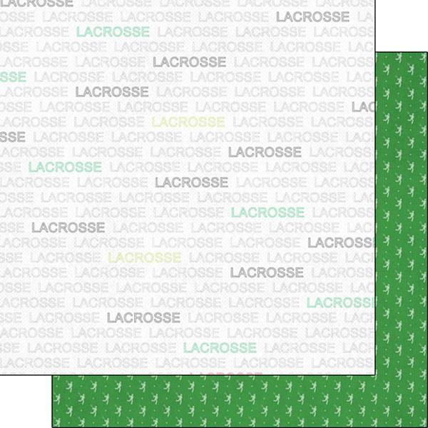 Scrapbook Customs Lacrosse Addict 1