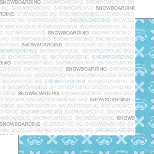 Scrapbook Customs Snowboarding Addict 1