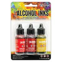 Tim Holtz Alcohol Inks Orange/Yellow Spectrum