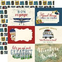 Echo Park Scenic Route 6 x 4 Journaling Cards